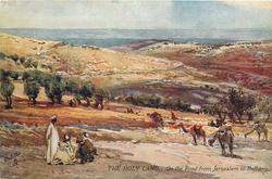 ON THE ROAD FROM JERUSALEM TO BETHANY