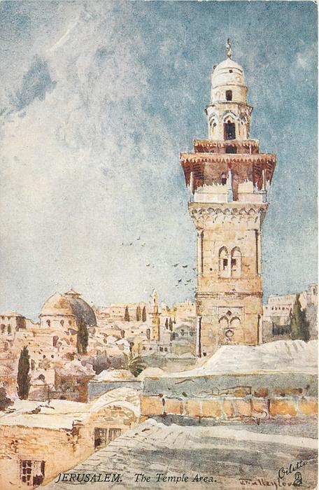 JERUSALEM. - THE TEMPLE AREA