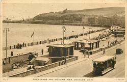 PROMENADE AND VICTORIA PIER, DOUGLAS , I.O.M.