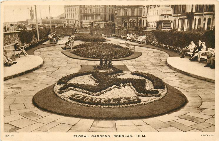 FLORAL GARDENS, DOUGLAS, I.O.M.