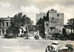 THE CASTLE AND PARADE, CASTLETOWN, I.O.M.
