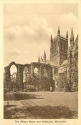 THE ABBEY RUINS AND CATHEDRAL
