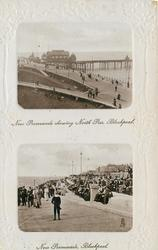 NEW PROMENADE SHOWING NORTH PIER, BLACKPOOL//NEW PROMENADE, BLACKPOOL