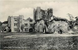LUDLOW CASTLE, NORMAN. KEEP FROM WHITCLIFF