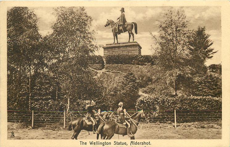 THE WELLINGTON STATUE
