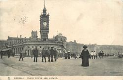 CLOCK TOWER AND ARCADE