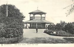 THE BAND STAND, BELLE VUE PARK