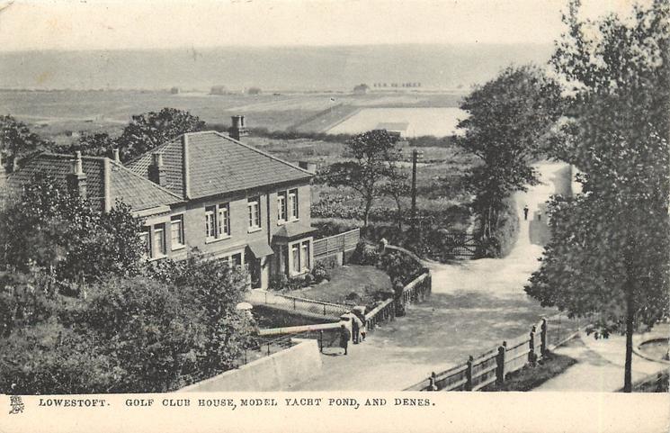 GOLF CLUB HOUSE, MODEL YACHT POND, AND DENES