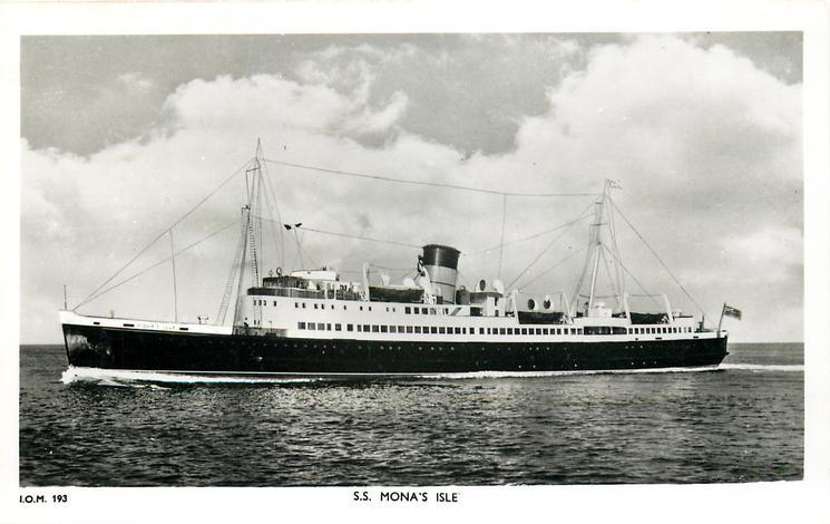 S.S. MONA'S ISLE