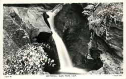 WATERFALL, GLEN MAYE, I.O.M.