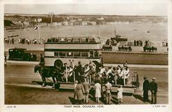 TOAST RACK. DOUGLAS, I.O.M.(and bus)