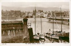 THE SWING BRIDGE, RAMSEY, I.O.M.