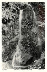 THE FALLS, DHOON GLEN, I.O.M.