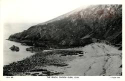 THE BEACH, DHOON GLEN, I.O.M.