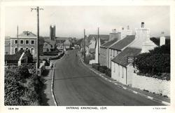ENTERING KIRKMICHAEL, I.O.M.
