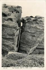 THE CHASMS, PORT ST. MARY, I.O.M.  slightly different image from 406