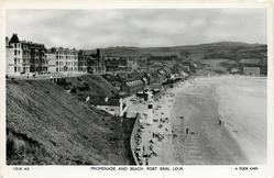 PROMENADE AND BEACH, PORT ERIN, I.O.M.