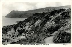 THE WALKS AND DRADDA HEAD, PORT ERIN, I.O.M.