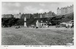 BEACH AND PROMENADE, PORT ERIN, I.O.M.