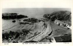 THE MANX COTTAGES AND NIARBYL ROCK, I.O.M.