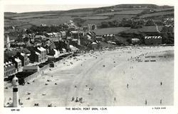 THE BEACH, PORT ERIN, I.O.M.