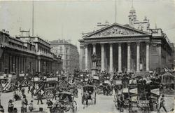 BANK OF ENGLAND & ROYAL EXCHANGE