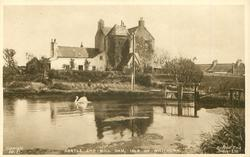 CASTLE AND MILL DAM, ISLE OF WHITHORN