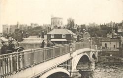 WINDSOR FROM THE BRIDGE