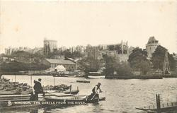 THE CASTLE FROM THE RIVER