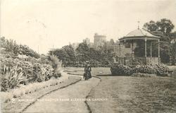THE CASTLE FROM ALEXANDRA GARDENS
