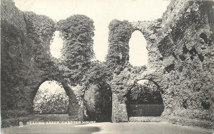 READING ABBEY, CHAPTER HOUSE