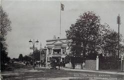 RED LION HOTEL, BARNES, AND ENTRANCE TO RANELAGH CLUB