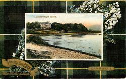 DUNSTAFFNAGE CASTLE  CAMPBELL tartan