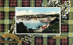 OBAN FROM S.W.  GORDON tartan