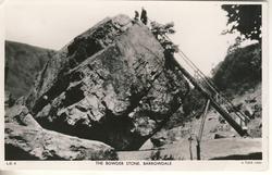 THE BOWDER STONE, BARROWDALE (Tuck error for BORROWDALE)
