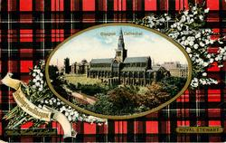 GLASGOW CATHEDRAL  ROYAL STEWART tartan