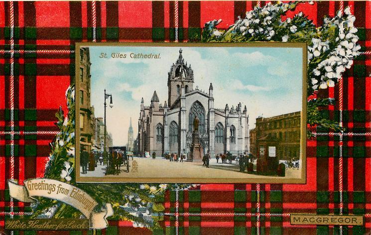 ST. GILES CATHEDRAL  MACGREGOR tartan