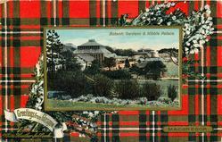 BOTANIC GARDENS & KIBBLE PALACE  MACGREGOR tartan