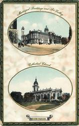 2 insets MUNICIPAL BUILDINGS AND ART GALLERY/CATHEDRAL CHURCH