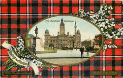 THE MUNICIPAL BUILDINGS  CAMERON tartan