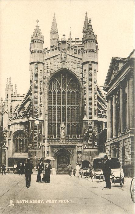 BATH ABBEY, WEST FRONT
