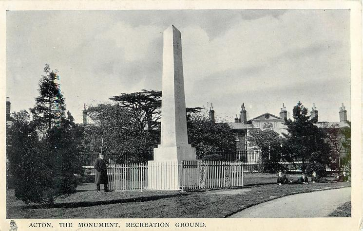 THE MONUMENT, RECREATION GROUND