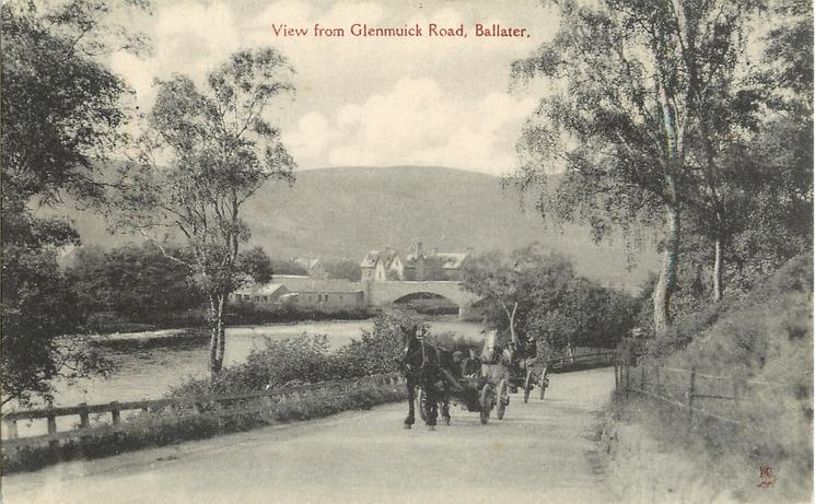 VIEW FROM GLENMUICK ROAD