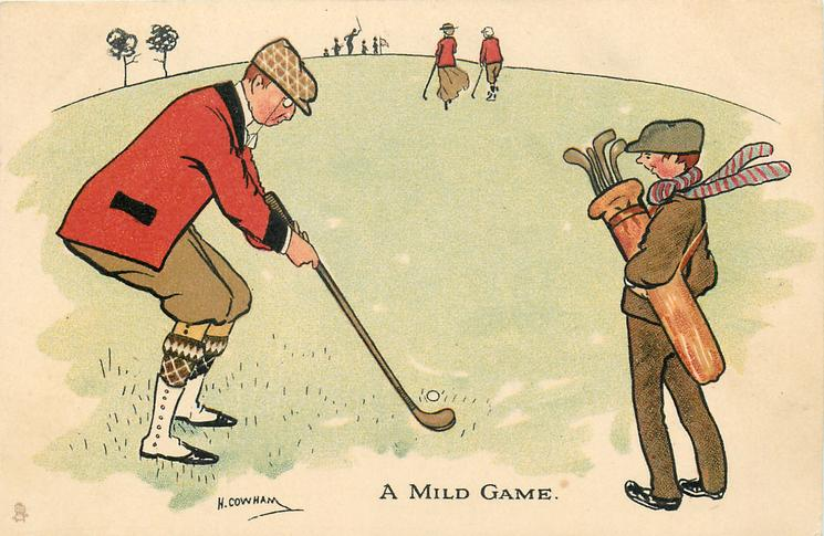 A MILD GAME  golf