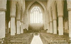 ALL SAINTS CHURCH WEST SOUTHBOURNE  interior view