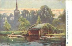 THE CHURCH AND BOAT HOUSE