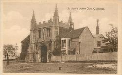 ST. JOHN'S ABBEY GATE