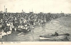 THE BEACH, SOUTHSEA  two row boats at beach