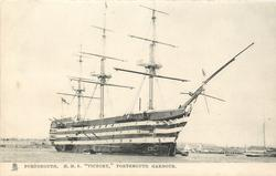 """H.M.S. """"VICTORY"""", PORTSMOUTH HARBOUR"""