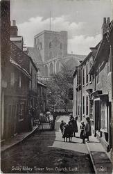 TOWER FROM CHURCH LANE